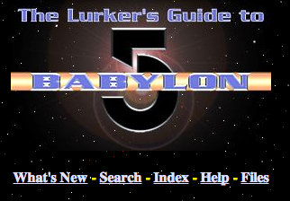 Lurkers guide to Babylon 5